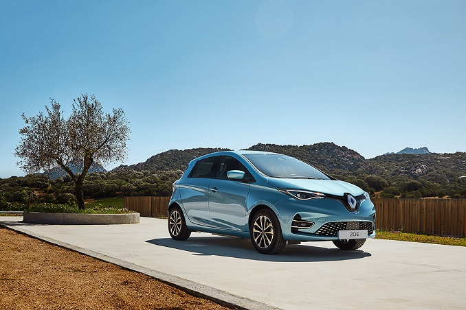 This file photo provided by Renault Samsung shows the ZOE all-electric car.