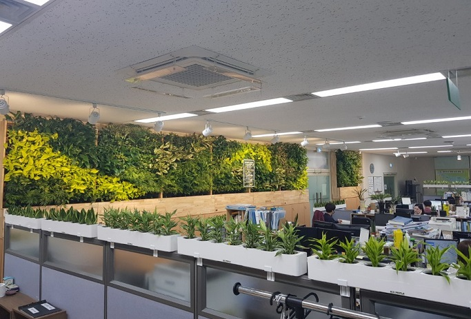 Seoul City Builds Green Healing Offices in Public Facilities