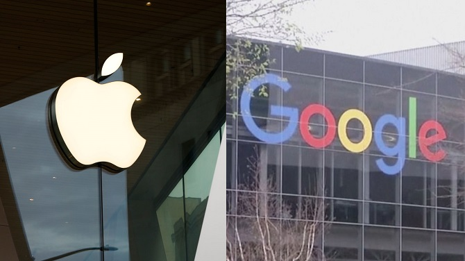 It's difficult for South Korea's major app developers to openly criticize the commissions charged by Apple and Google since they are dominant platforms. (Yonhap)