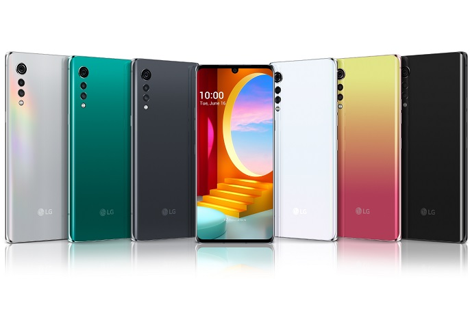 This image provided by LG Electronics Inc. shows the company's latest smartphone, the Velvet.
