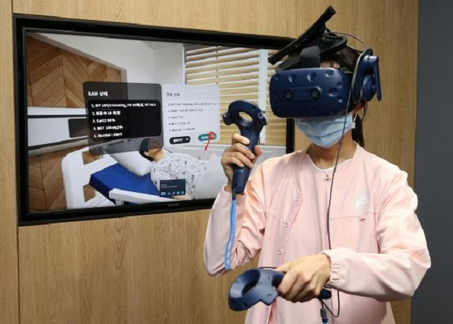 Asan Medical Center Introduces VR Platform to Train Nurses
