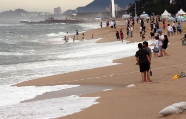 Gyeongpo Beach Cleaned Up After Banning 'Fried Chicken and Beer'