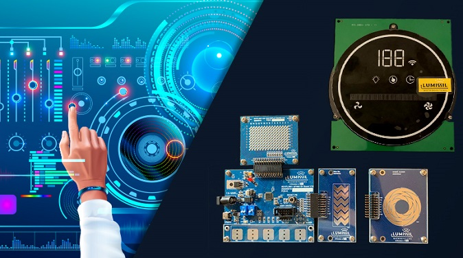 Lumissil Introduces a Family of Smart Matrix LED Drivers with Integrated Touch-Key Control