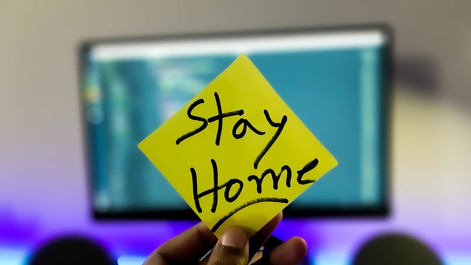 In the face of widespread fears of COVID-19, a growing number of people are opting to stay home and find unique ways to spend time indoors, instead of venturing outside to meet with friends or travel. (Image courtesy of Pixabay)