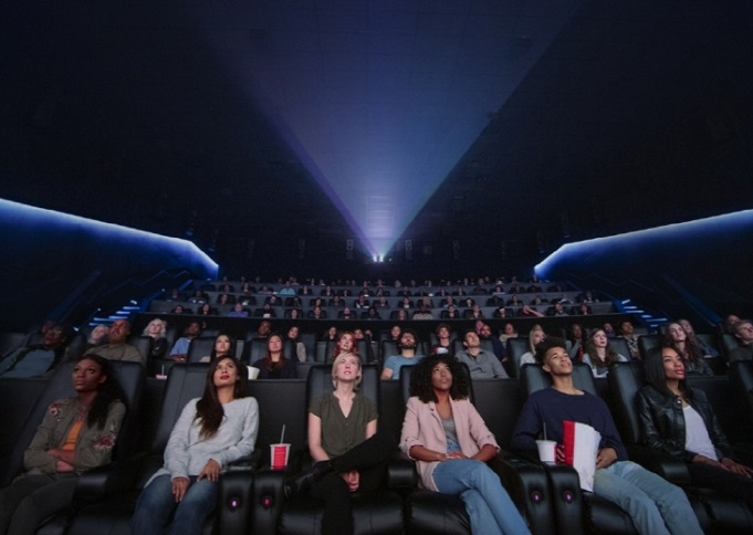 This photo, provided by KPR on June 9, 2020, shows Dolby Cinema, a premium cinema using Dolby Laboratories Inc.'s advanced audio and imaging equipment and technologies.
