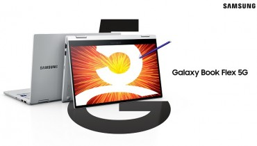 Samsung Unveils 5G-supporting Flexible Laptop