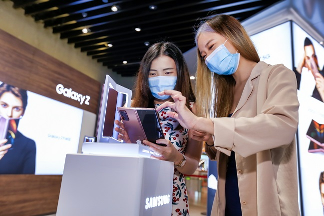 Samsung Launches Galaxy Z Fold 2 in Global Markets