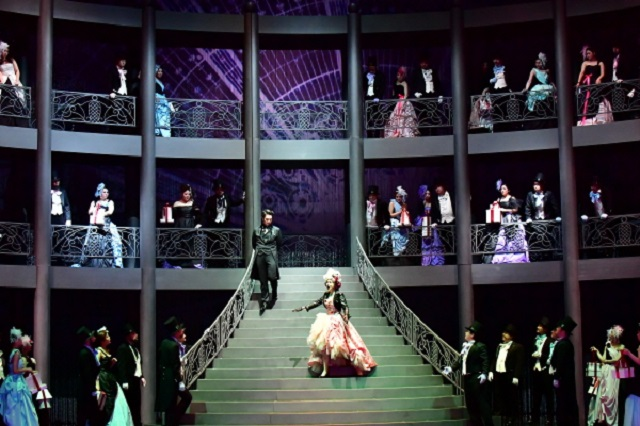 "A scene from the opera ""Manon"" by the Korea National Opera"