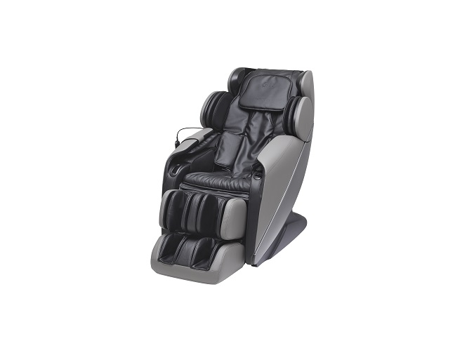 This photo provided by LG Electronics Inc. on Sept. 28, 2020, shows the company's new HealingMe massage chair MH60G.