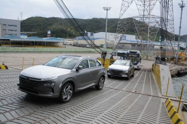 Hyundai Sells Over 10,000 Nexo Hydrogen Cars in S. Korea