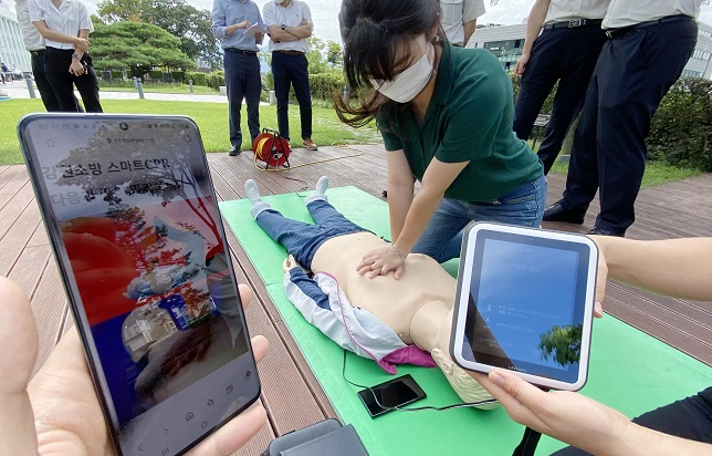 Smart CPR Manual Comes in Moving Picture Format, First in S. Korea
