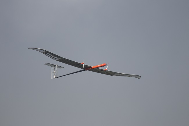 EAV-3, a solar-powered UAV developed by the Korea Aerospace Research Institute. (image: LG Chem)
