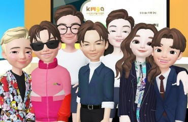 Korea Mobile Game Association Holds Online Meeting Using Avatars