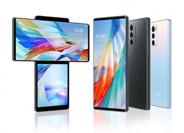 LG Unveils New Dual-screen Smartphone with Rotating Form Factor