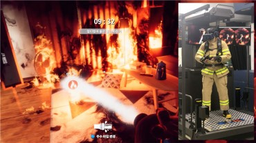 Institute Develops VR-based Fire Extinguishing Training Simulator
