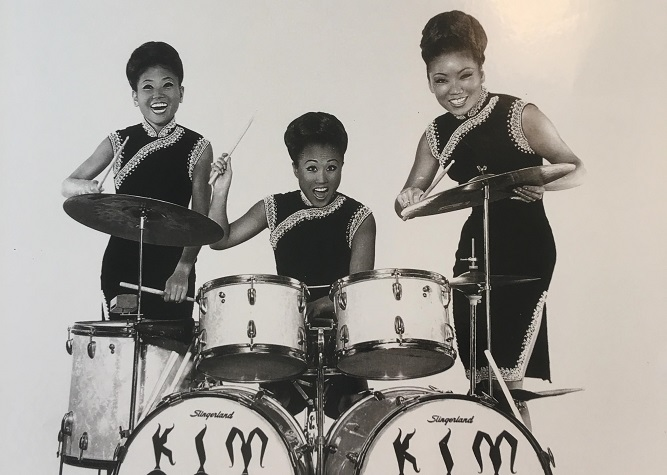 This file photo provided by Dimo Kim Musical Theatre Factory shows the Kim Sisters, a South Korean girl group that had a career in the U.S. from the late 1950s throughout the mid-1960s.