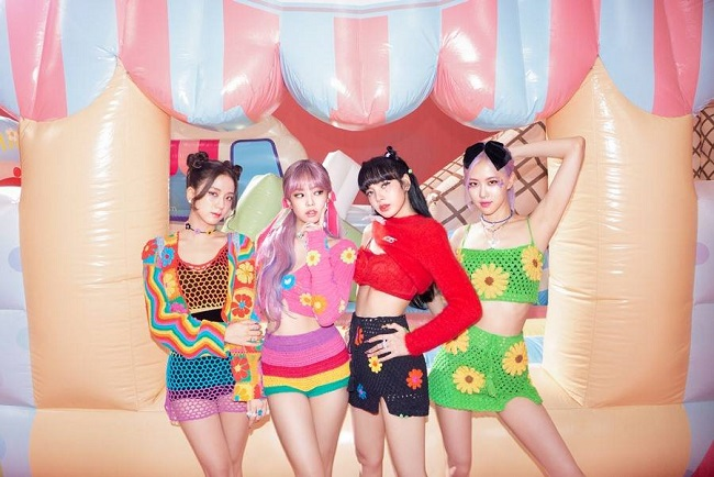 This photo, provided by YG Entertainment, shows South Korean girl group BLACKPINK.