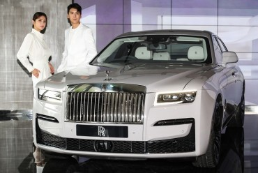 Rolls-Royce New Ghost Makes 1st Asian Debut in S. Korea