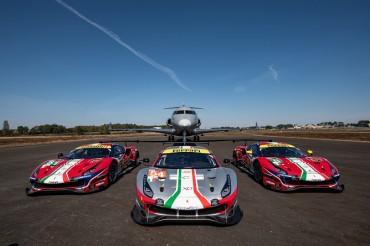 Vista Global and Ferrari Extend Partnership to Increase Safety for Ferrari Competizioni GT and Corse Clienti