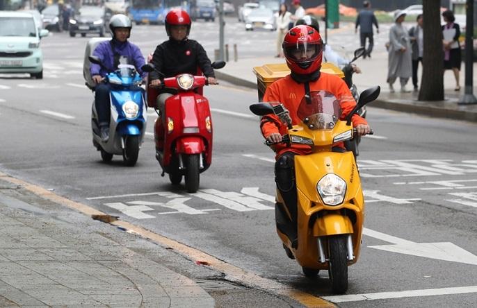 Electric two-wheelers (Yonhap)