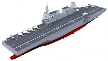 S. Korea Begins Procedures to Develop Technologies for Light Aircraft Carrier