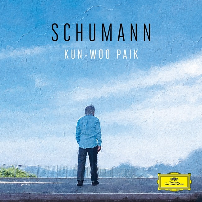 "This image, provided by Universal Music, shows the album cover for pianist Paik Kun-woo's latest album ""Schumann."""