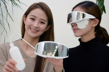 LG Electronics Unveils Eye Skin Care Device in S. Korea