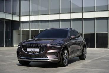 Hyundai Unveils Design of Genesis GV70 SUV
