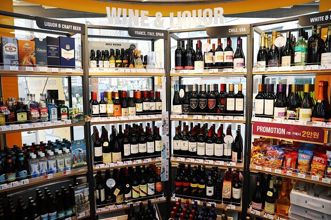 Wine Outranks Bottled Beer in Sales