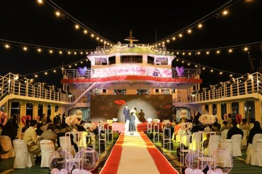 South Jeolla Province Hosts Boat Wedding