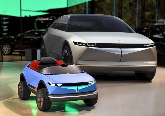 Hyundai Motor Introduces EV for Kids