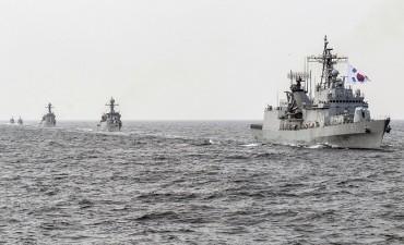 Chinese Warships' Activities Up Near Korean Peninsula