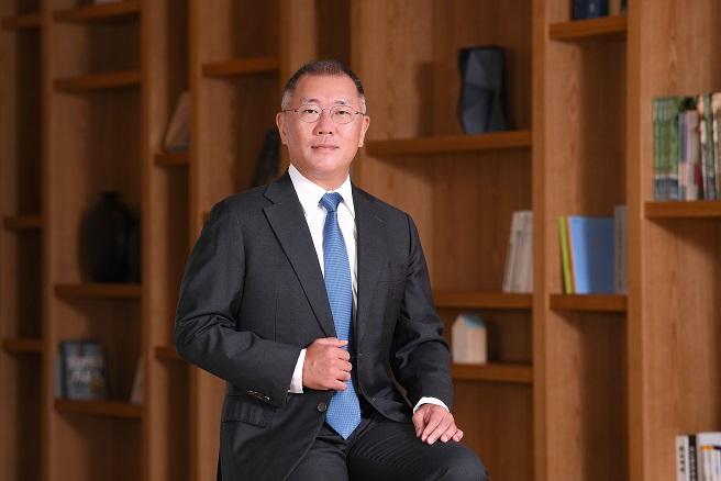 This photo provided by Hyundai Motor Group shows Hyundai Motor Group Chairman Chung Euisun.