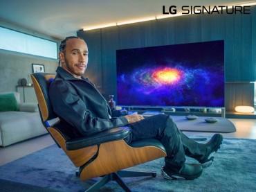 LG Electronics Names F1 Champ Lewis Hamilton as Brand Ambassador