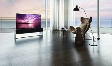 LG Electronics Launches Rollable TV in S. Korea for 100 mln Won