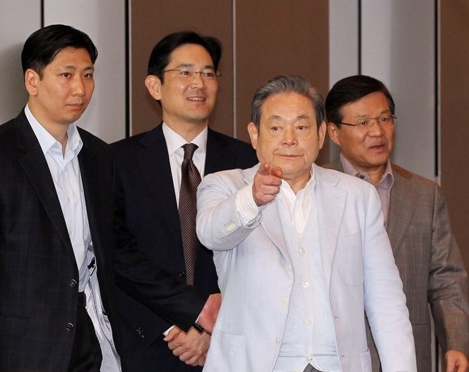 Samsung Heir May Get Promoted to Chairman Following Father's Passing