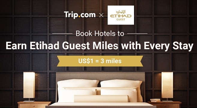 Trip.com Partners with Etihad Airways Etihad Guest