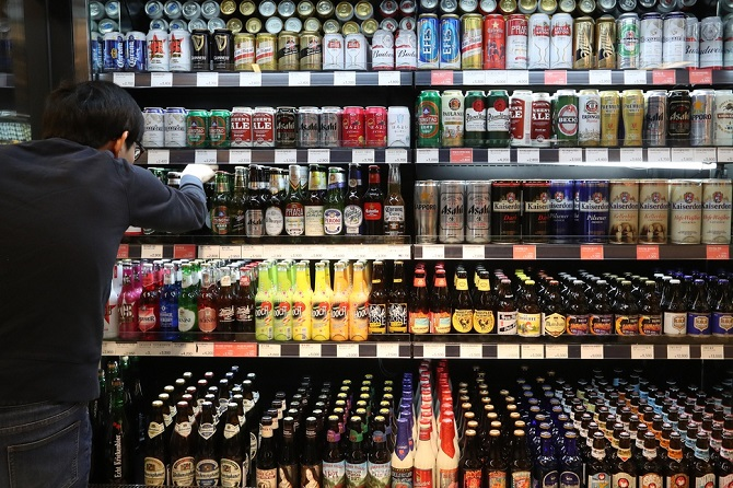 Alcohol Imports Drop for 1st Time in 10 Years in 2019