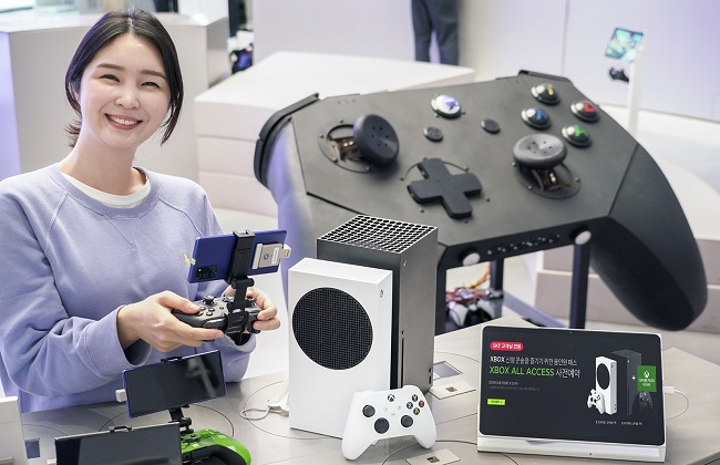 SK Telecom Launches Subscription-based Xbox Service in S. Korea