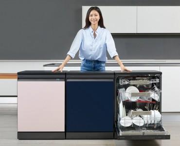 Samsung's Dishwasher Sales Top 1 Million Units This Year