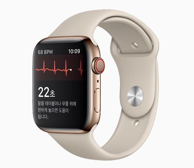 Apple's ECG Monitoring App Available in S. Korea