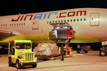 Jin Air Begins Cargo Delivery to U.S. amid Pandemic