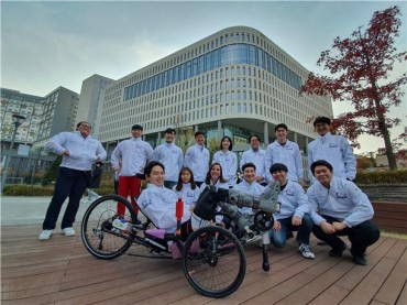 University Researchers Develop AI Bicycle for the Disabled