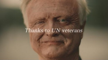 S. Korea Airs Thank-you Video in Times Square for Korean War Veterans