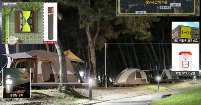 Environmental Design for Crime Prevention Employed at Popular Campground