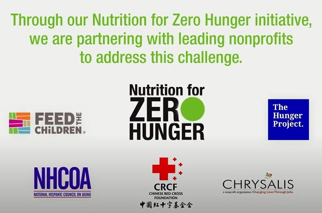 "Herbalife Nutrition Commemorates the Inaugural Year of ""Nutrition for Zero Hunger"", the Initiative to End World Hunger"