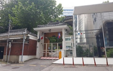 Man Who Posted Threatening Flyers at French Embassy in Seoul Caught