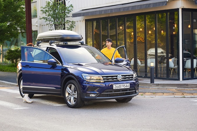 This file photo provided by Volkswagen Korea shows the Tiguan SUV.