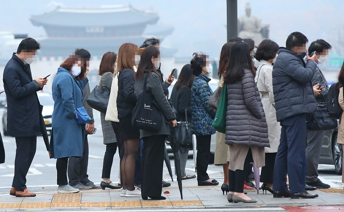 Half of S. Koreans Believe Coronavirus Infection Depends on Luck