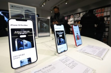 S. Korea's 5G Users Near 10 mln in Oct.